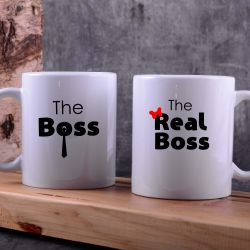 hrnečky boss and real boss